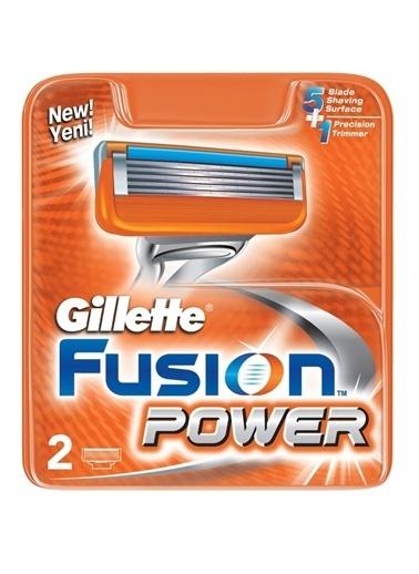 Gillette Fusion Power Yedek Tıraş Bıçağı 2'li Renkli